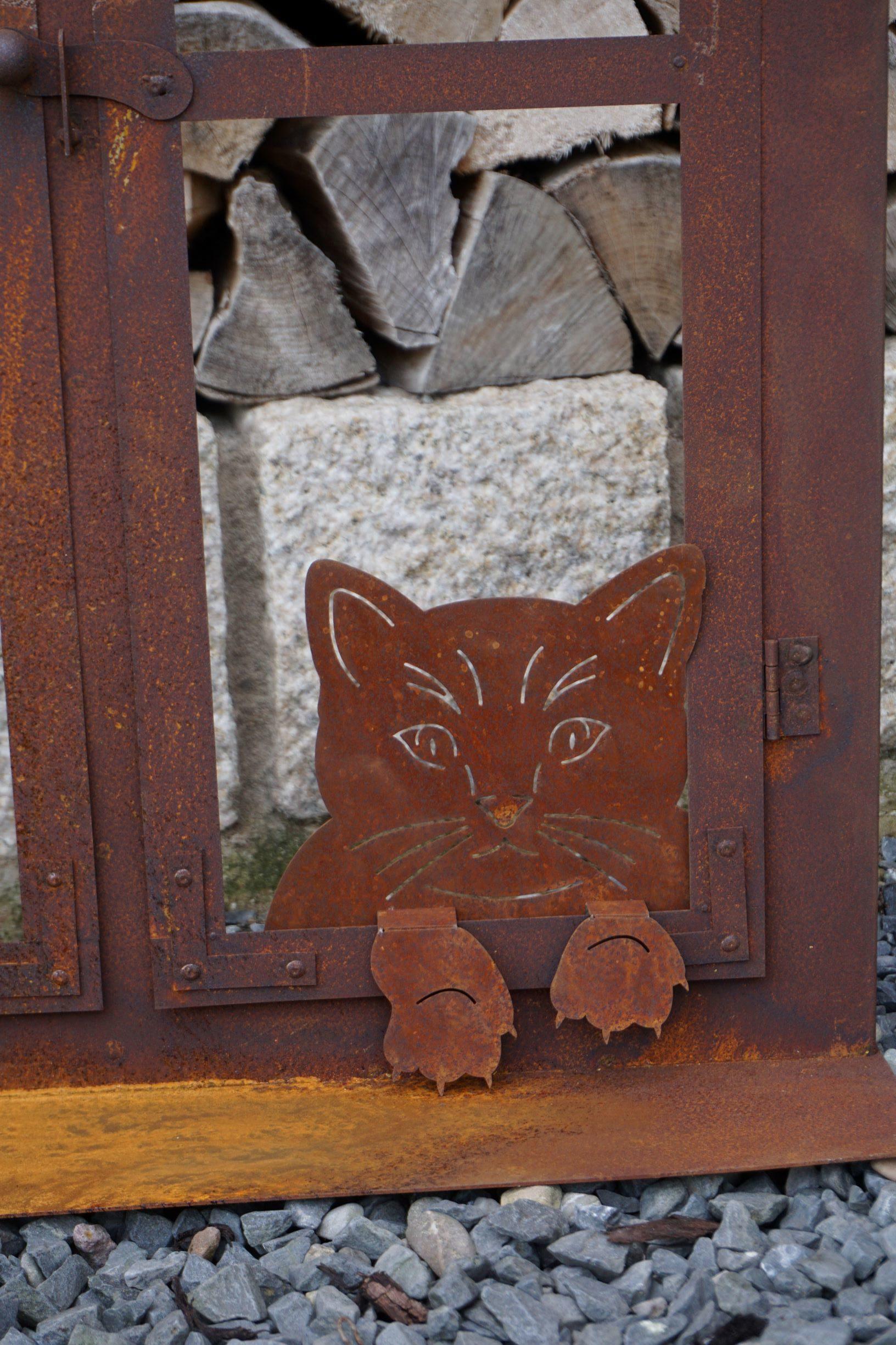 Vintage One Der Edelrost Deko Shop Edelrost Katze Gartendeko Rost