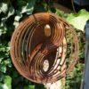 Windspiel Yin Yang Edelrost Vintage One